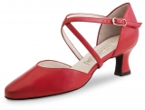 Salsaschoenen Werner Kern Patty Nappa red