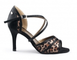 Portdance PD506 Fashion Leopard Satin