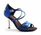Portdance PD400 Fashion Blue Satin