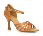 Portdance PD133 Premium  Dark Tan Satin