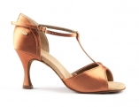 Portdance PD625 Premium  Dark Tan Satin
