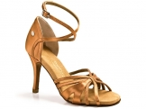 Portdance PD140 Premium Dark Tan Satin