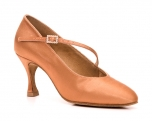 Portdance PD200 Premium Dark Tan Satin