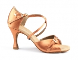 Portdance PD636 Premium Dark Tan Satin