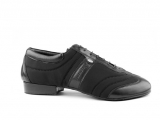 Portdance PD Pietro Premium Nobuck Sole Black Lycra Leather